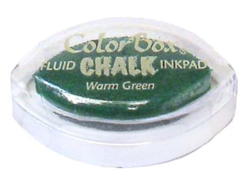 ColorBox Fluid Chalk Ink Pad Cat's Eye Warm Green