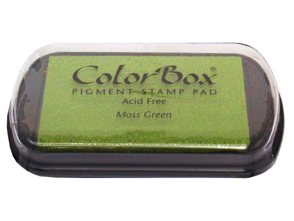 Colorbox Full Size Pigment Inkpad Moss Green