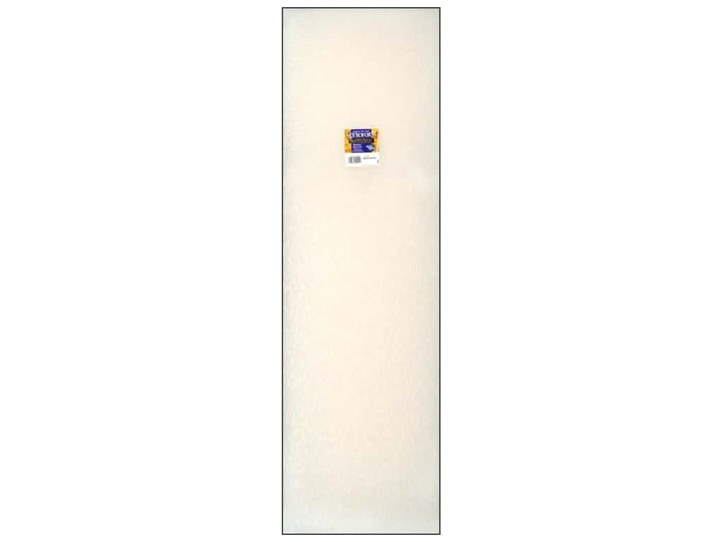 FloraCraft Styrofoam Sheet 2 x 12 x 36 in. White 1 pc.