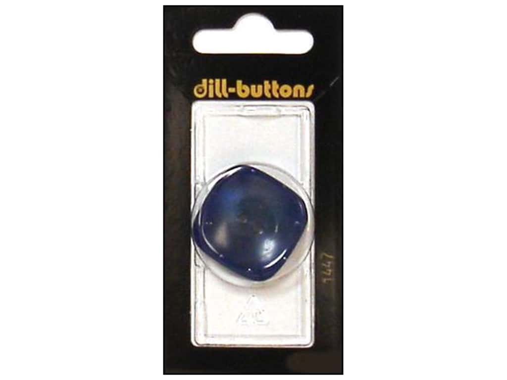 Dill 2 Hole Buttons 1 1/4 in. Blue #1447 1 pc.