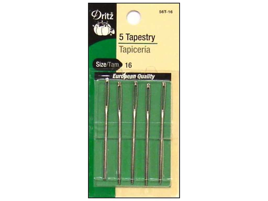 Dritz Tapestry Needles Size 16 5 pc.