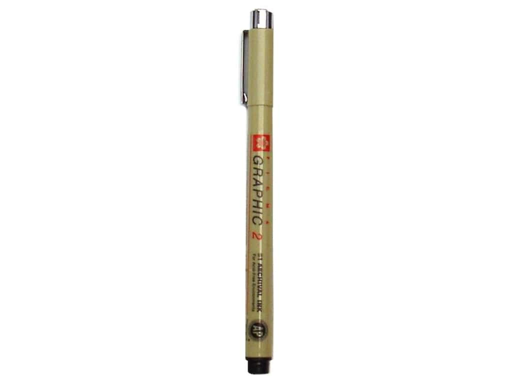 Sakura Pigma Graphic Pen 2.0 mm Black
