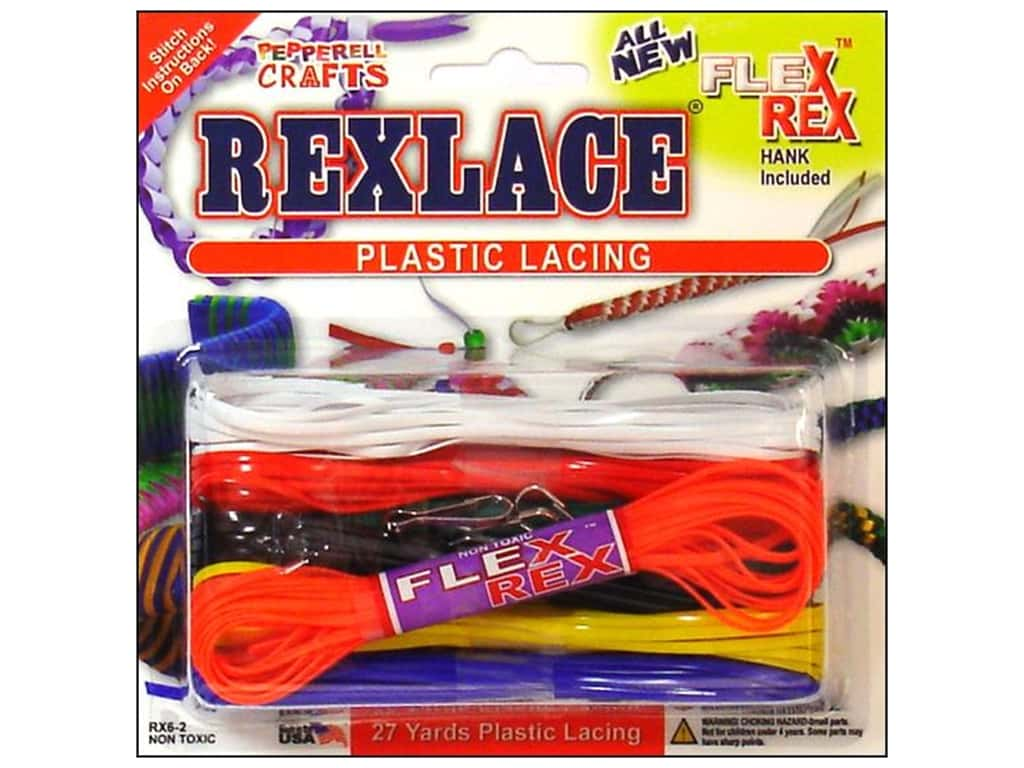 Pepperell Rexlace Craft Lace 27 yd. Cool Combo Basic