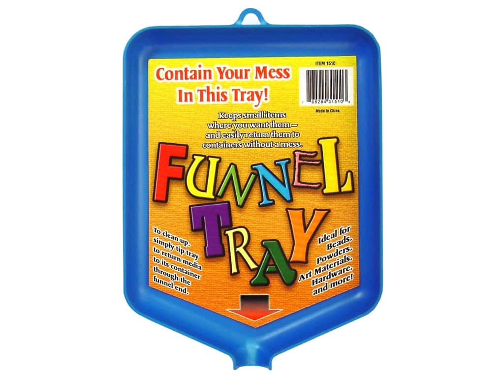 Tidy Crafts Funnel Tray 6 x 8 in.