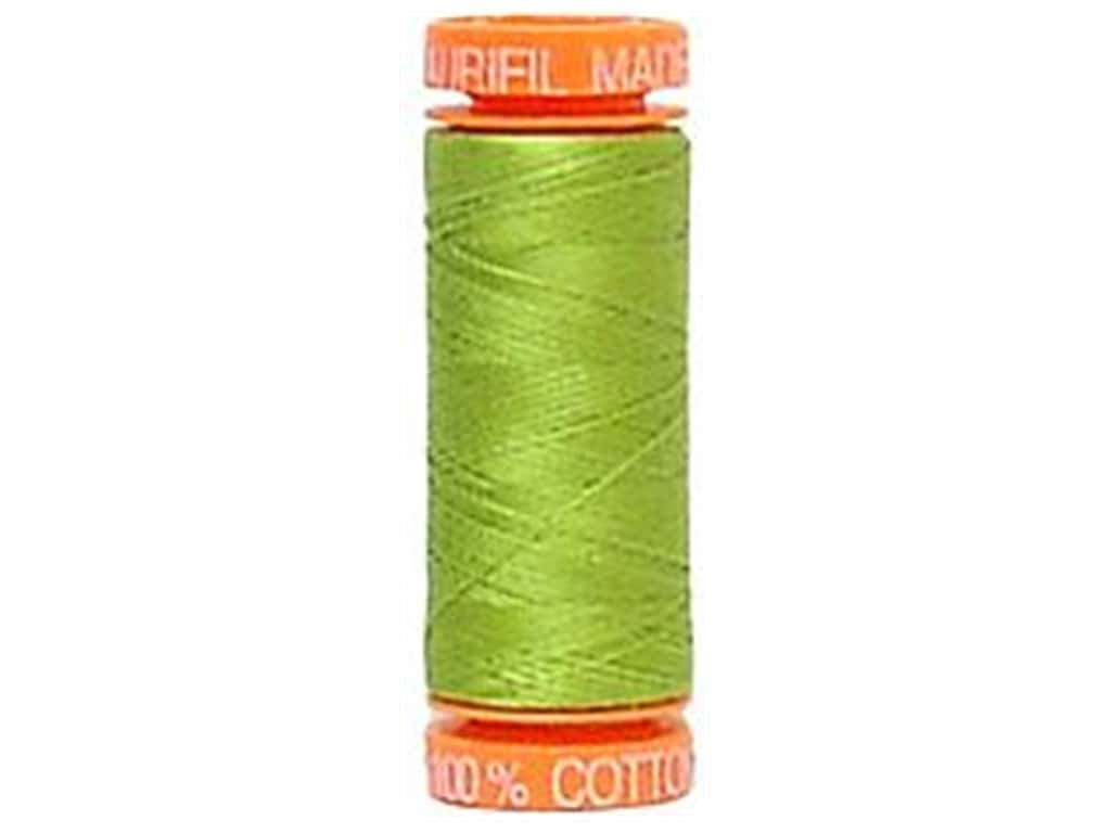 Aurifil Mako Cotton Quilting Thread 50 wt. #1147 Yellow Green 220 yd.