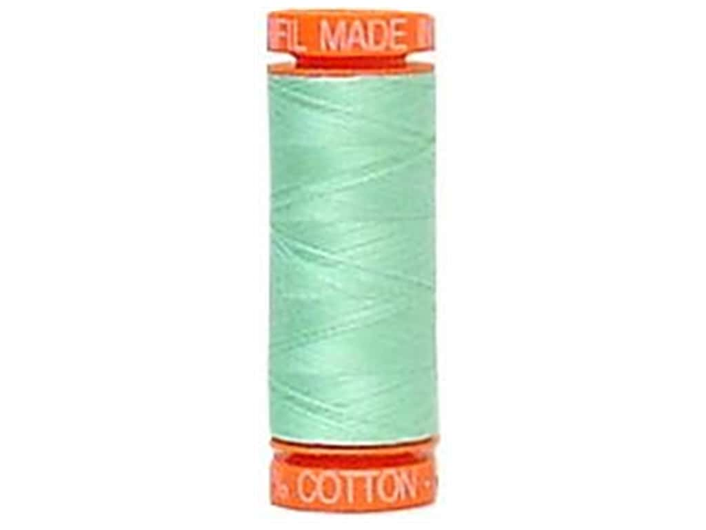 Aurifil Mako Cotton Quilting Thread 50 wt. #2835 Seafrost 220 yd.
