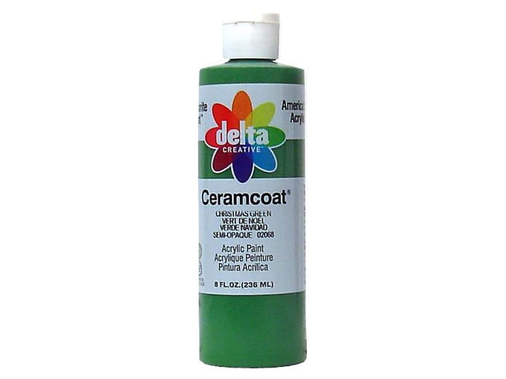 Delta Ceramcoat Acrylic Paint 8 oz. #2068 Christmas Green