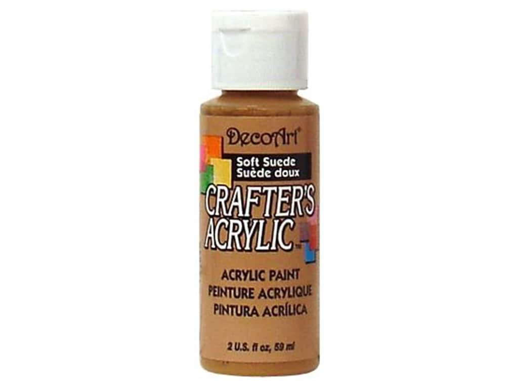DecoArt Crafter's Acrylic Paint 2 oz. #60 Soft Suede