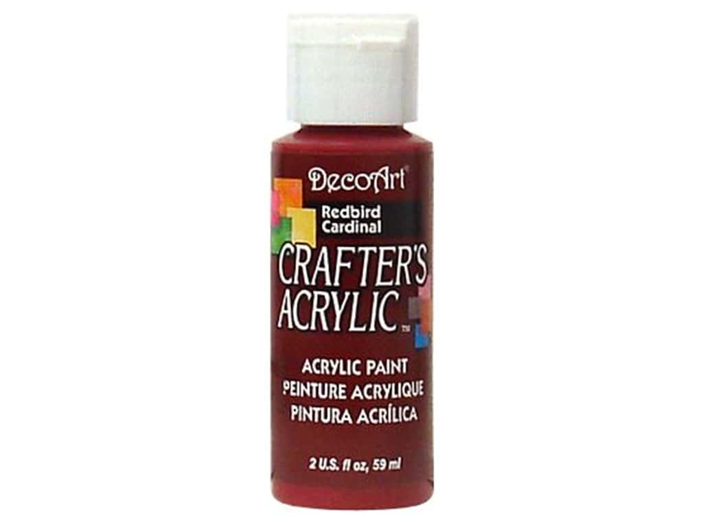 DecoArt Crafter's Acrylic Paint 2 oz. #63 Redbird
