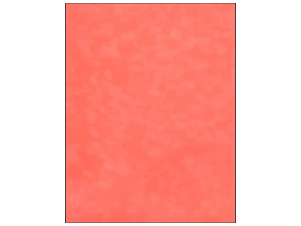 SEI Velvet Paper 8 1/2 x 11 in. Salmon (12 sheets)