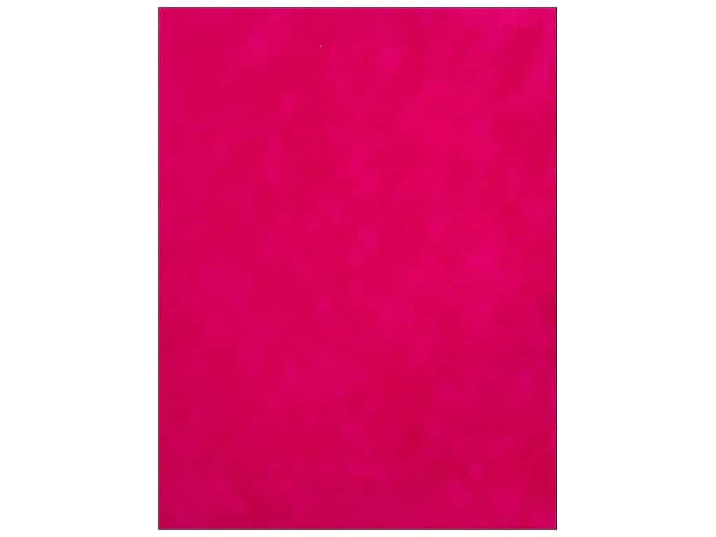 SEI Velvet Paper 8 1/2 x 11 in. Raspberry (12 sheets)