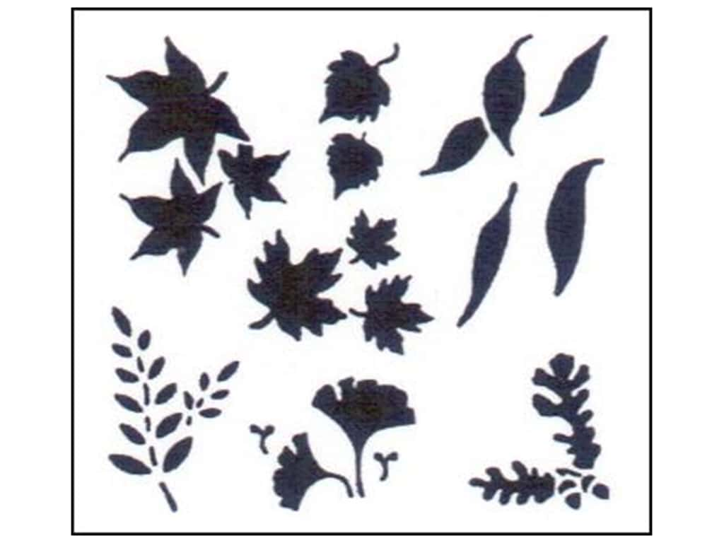 StenSource Painting Stencil 5 in. Mini Leaves
