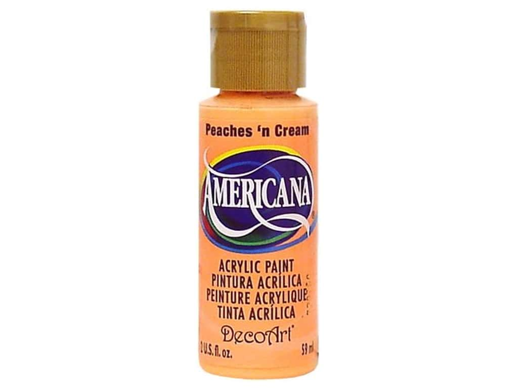DecoArt Americana Acrylic Paint 2 oz. #023 Peaches N' Cream