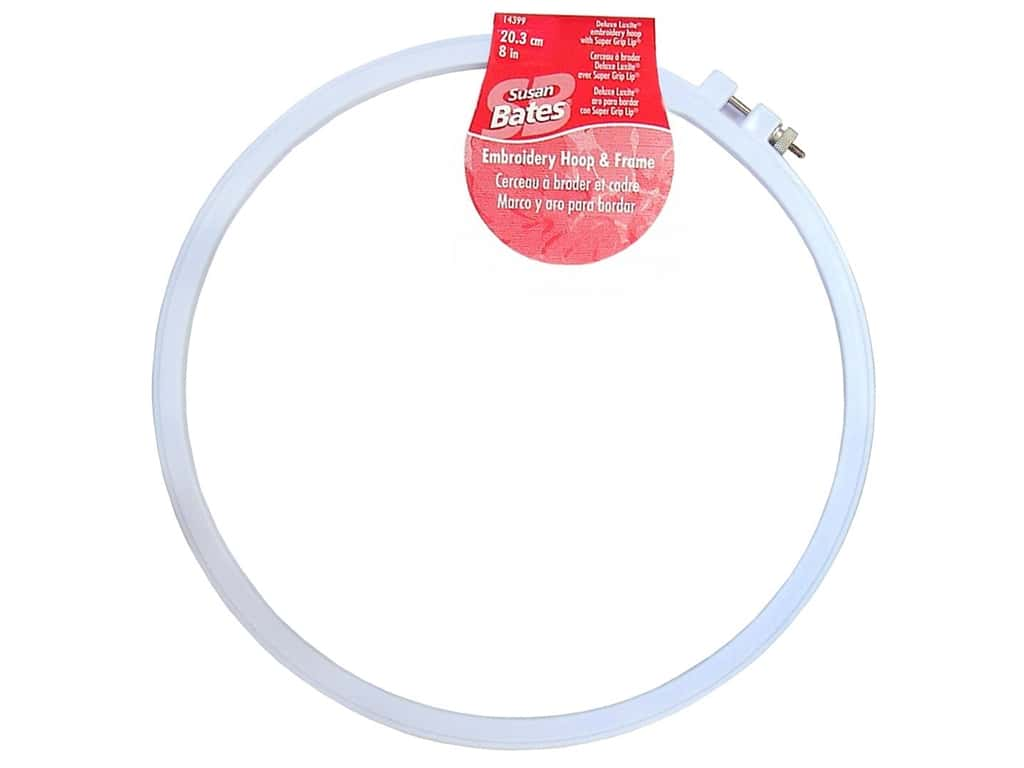 Susan Bates Plastic Embroidery Hoops 8 in. Blue