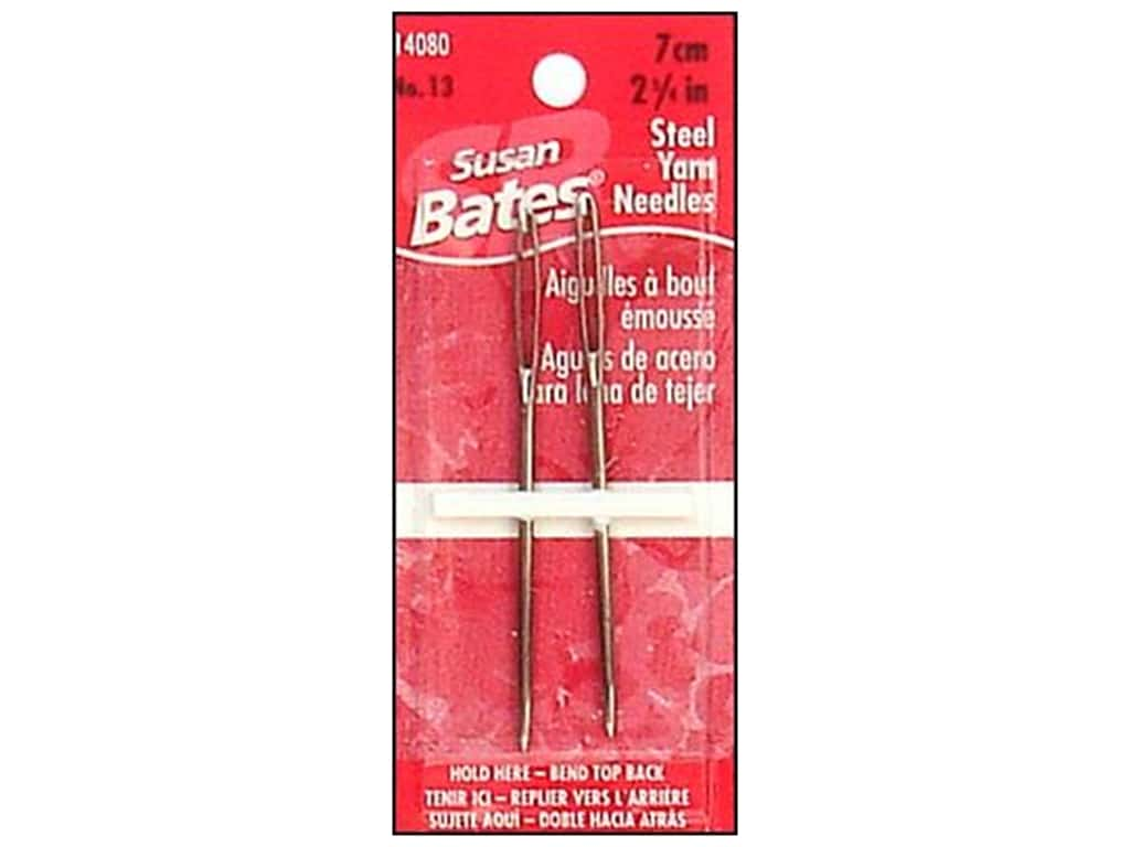 Susan Bates Steel Yarn Needle 2 3/4 in. 2 pc.