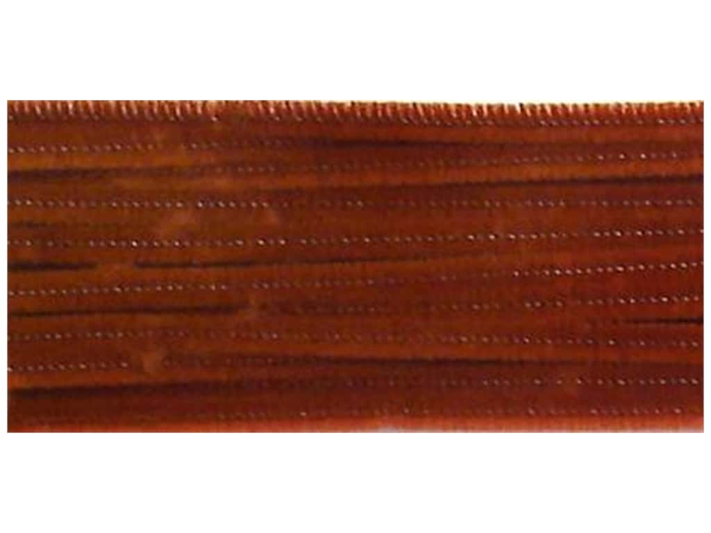 PA Essentials Chenille Stems 6 mm x 12 in. Brown 25 pc.