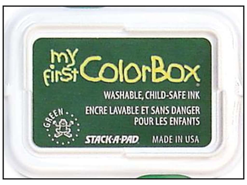 My First ColorBox Dye Ink Pad Green