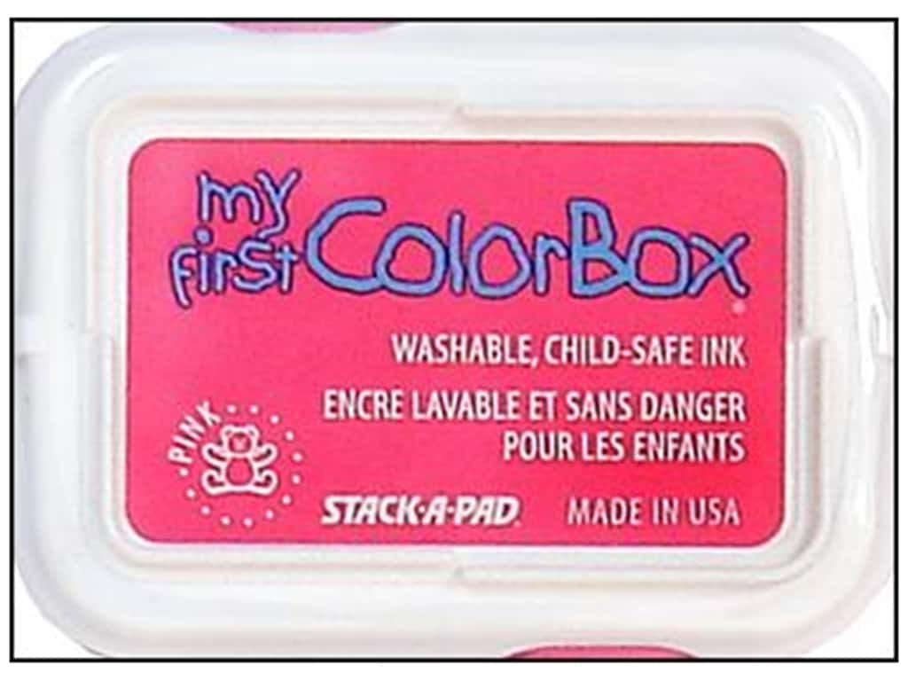 My First ColorBox Dye Ink Pad Pink
