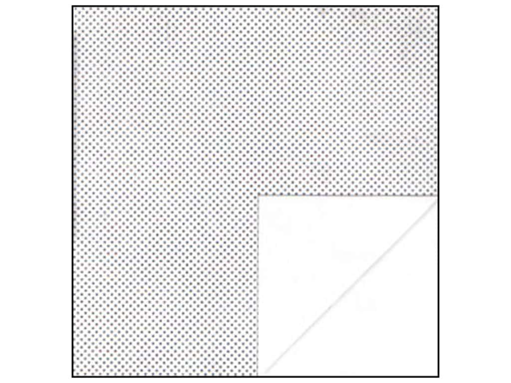 Bo Bunny 12 x 12 in. Paper Double Dot Collection Sugar Dot (25 sheets)