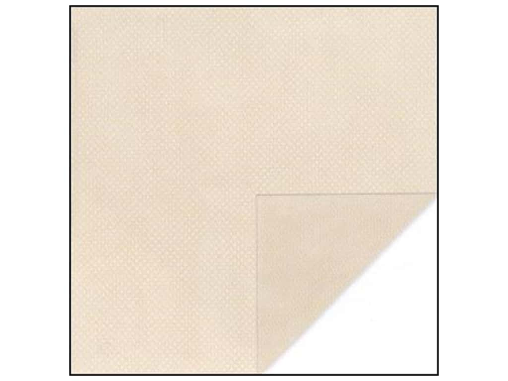 Bo Bunny 12 x 12 in. Paper Double Dot Collection Almond Dot (25 sheets)