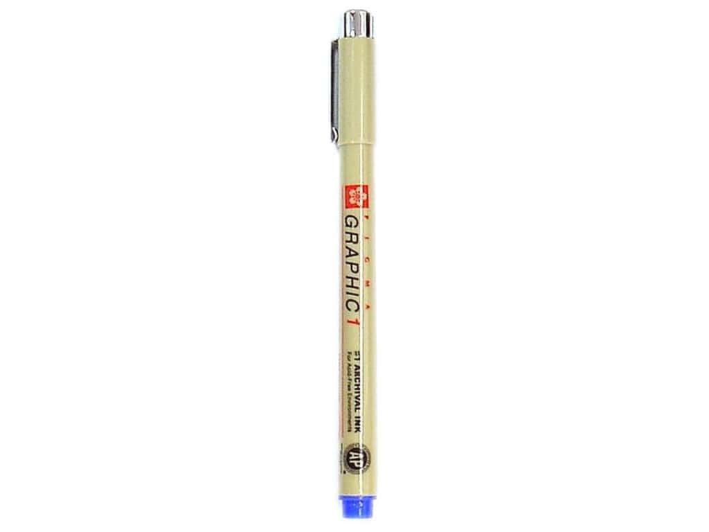 Sakura Pigma Graphic Pen 1.0 mm Blue