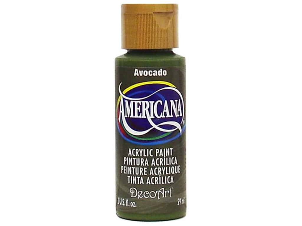 DecoArt Americana Acrylic Paint 2 oz. #052 Avocado