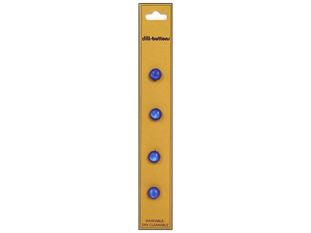 Dill Shank Buttons 5/16 in. Royal Blue 4 pc.