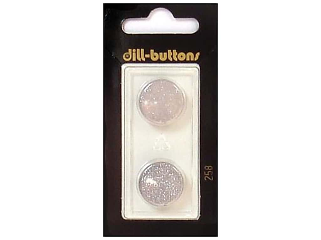 Dill Shank Buttons 11/16 in. Light Grey #258 2 pc.