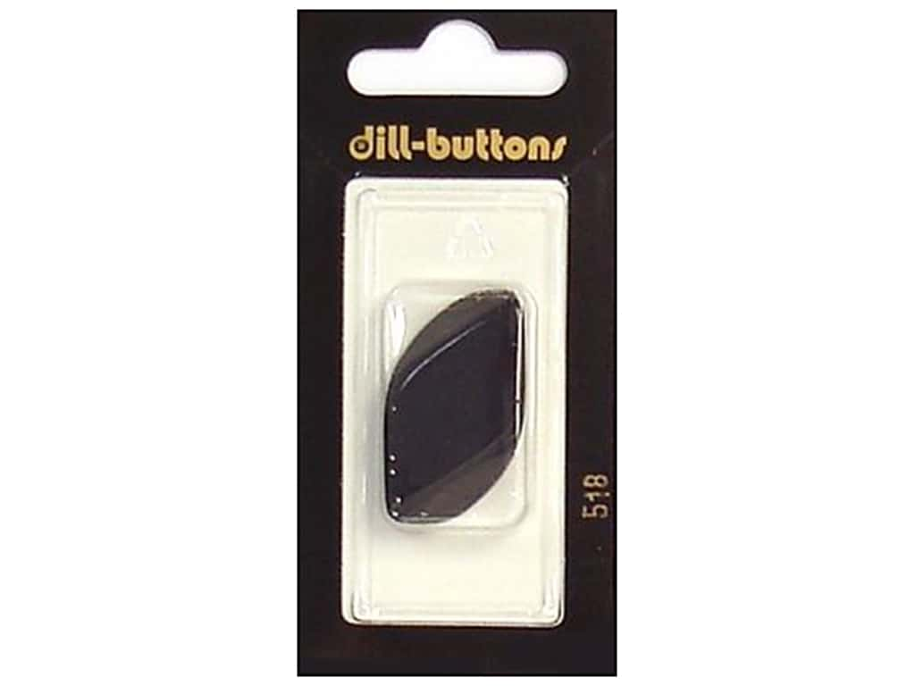 Dill Shank Buttons 1 1/4 in. Black #518 1 pc.