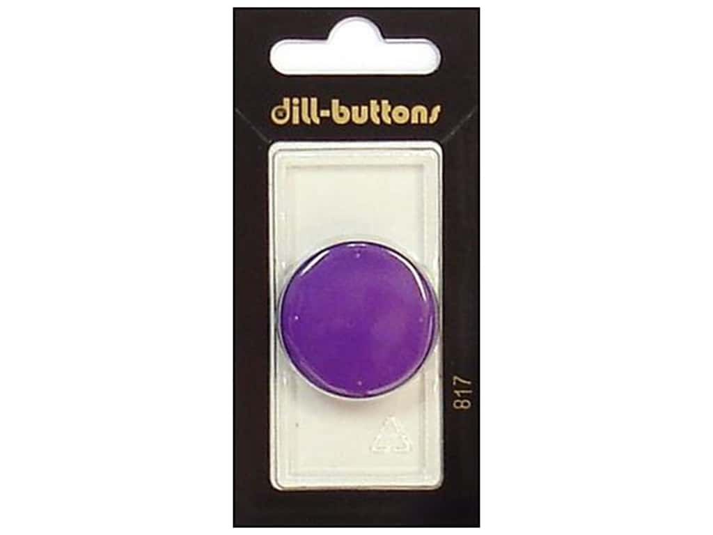 Dill Shank Buttons 1 1/8 in. Purple #817 1 pc.