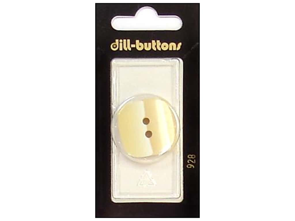 Dill 2 Hole Buttons 1 1/8 in. Beige #928 1 pc.