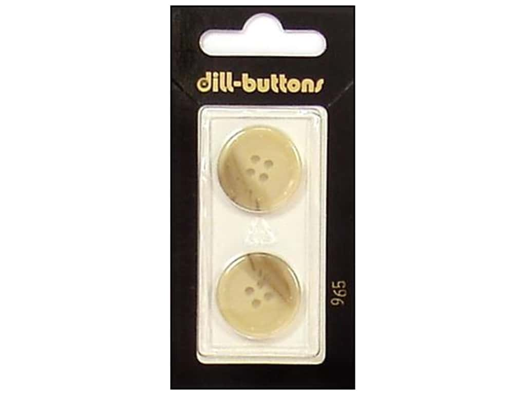 Dill 4 Hole Buttons 13/16 in. Beige #965 2 pc.