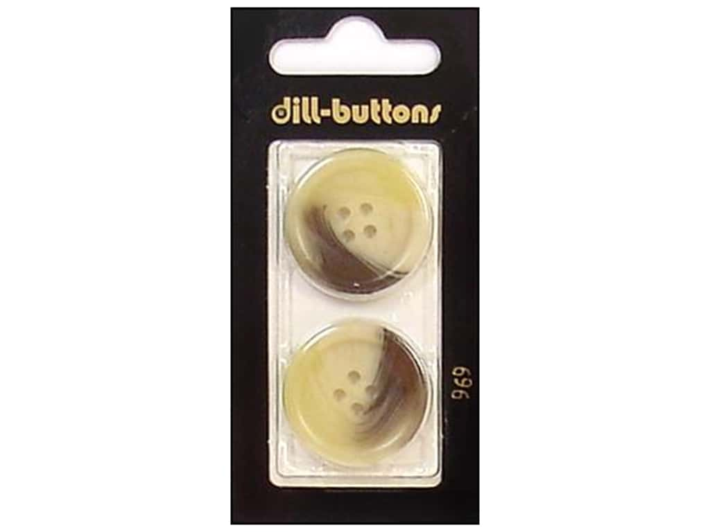 Dill 4 Hole Buttons 1 in. Beige #969 2 pc.