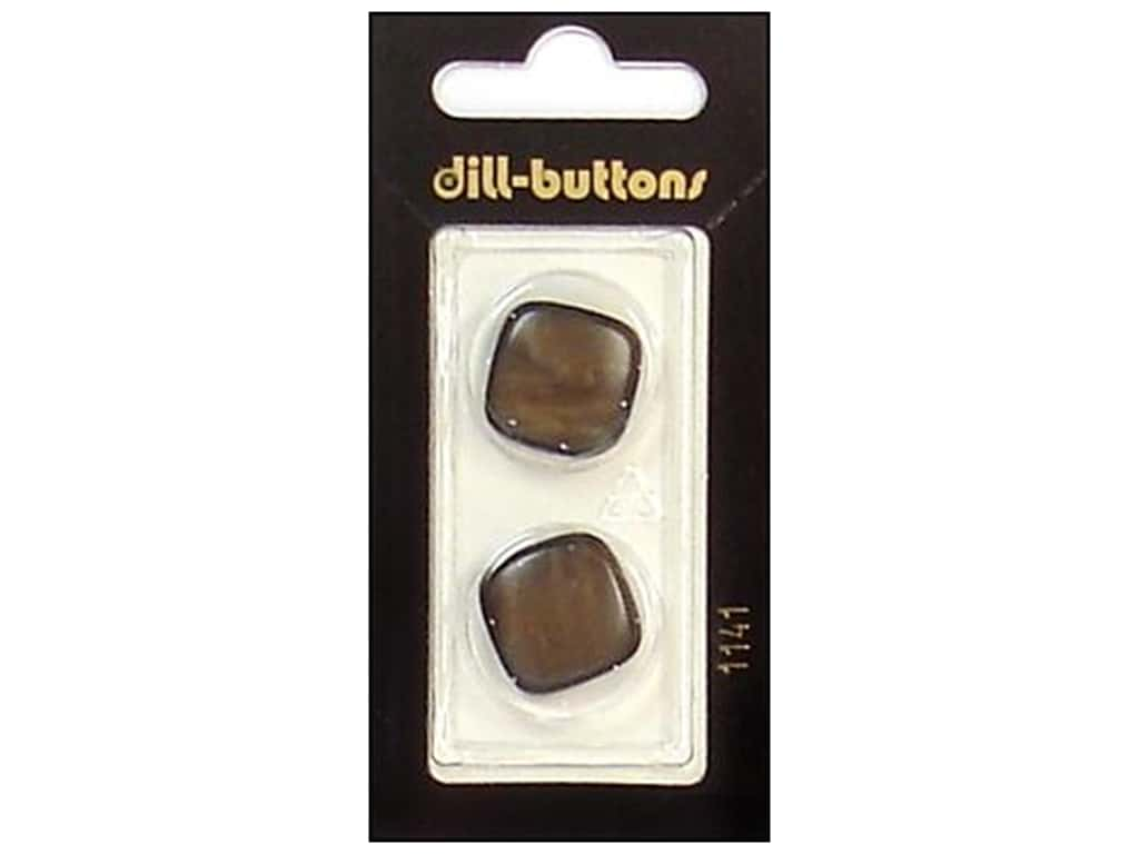 Dill Shank Buttons 3/4 in. Brown #1141 2 pc.