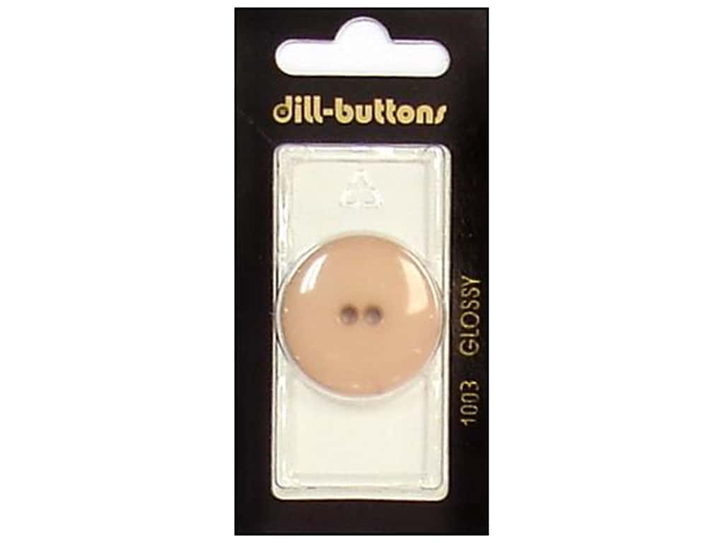 Dill 2 Hole Buttons 1 1/8 in. Brown #1003 1 pc.
