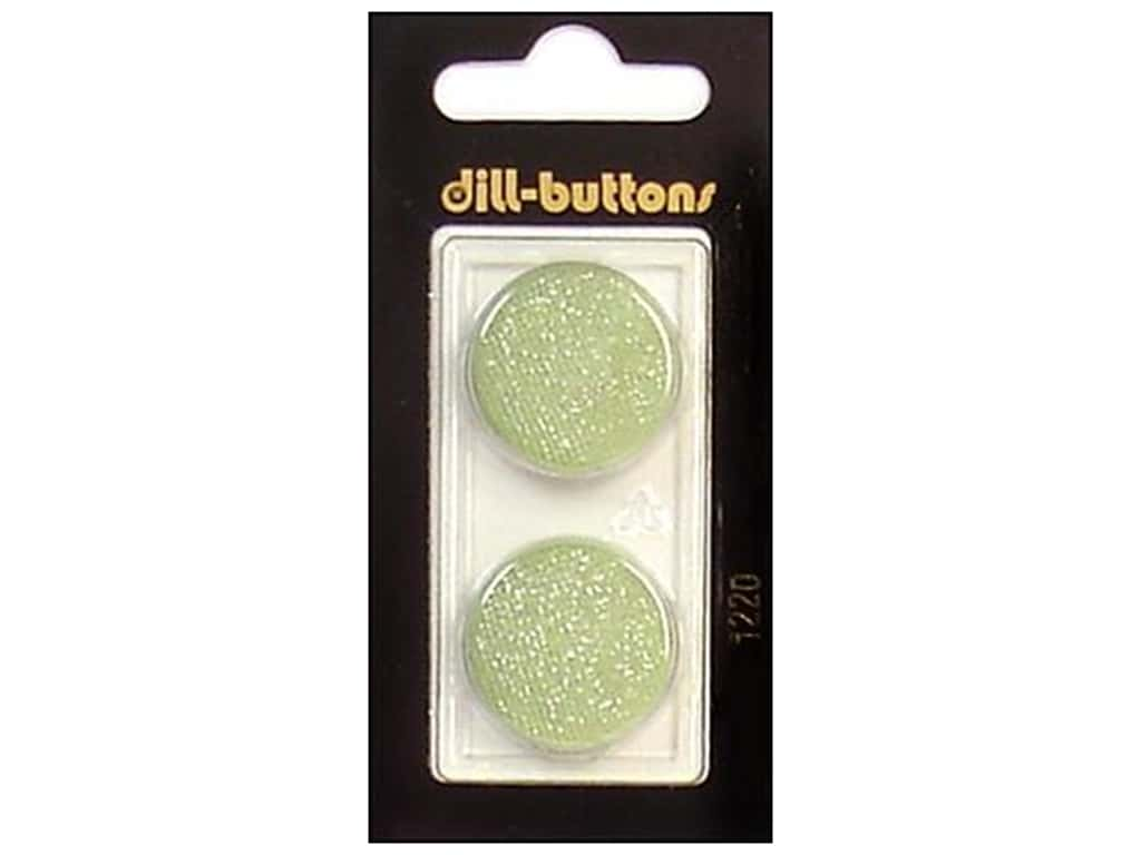 Dill Shank Buttons 7/8 in. Light Green #1220 2 pc.