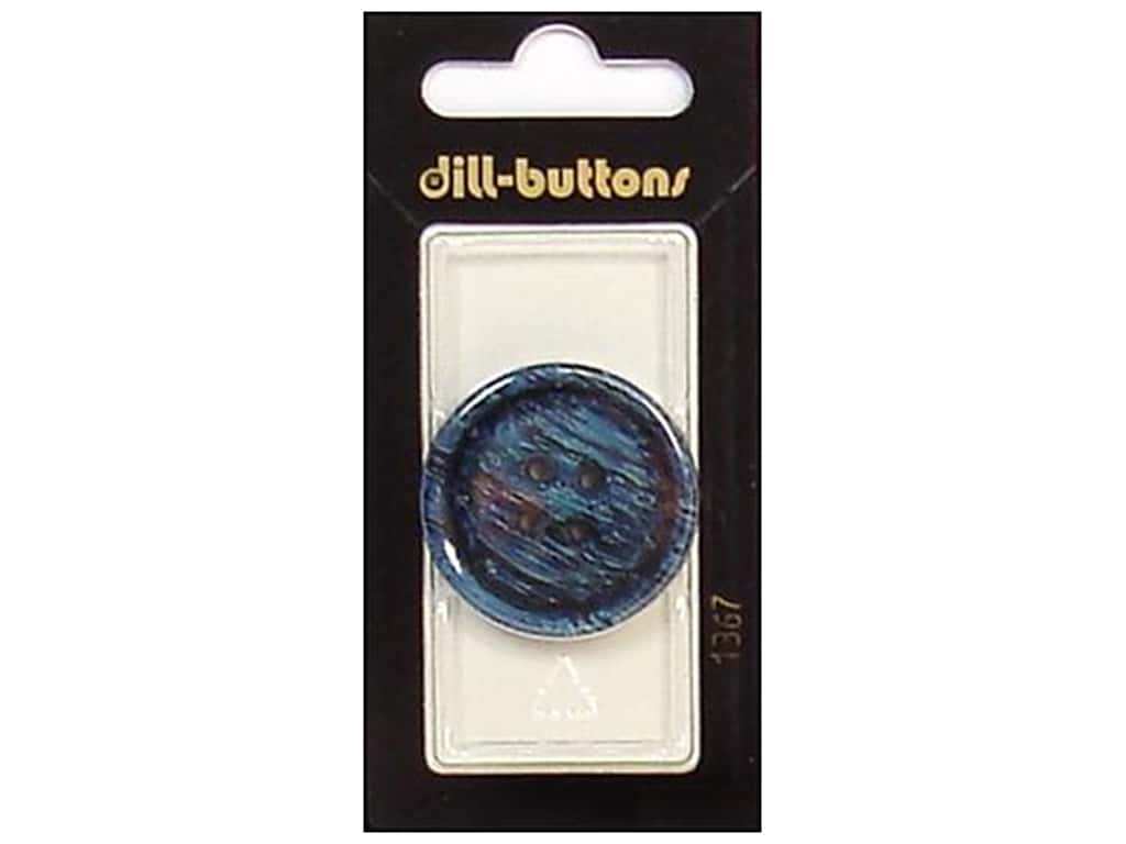 Dill 4 Hole Buttons 1 1/4 in. Navy #1367 1 pc.