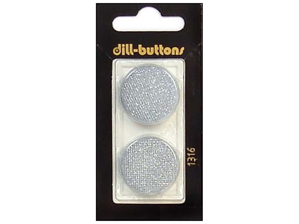 Dill Shank Buttons 1 in. Light Blue #1316 2 pc.