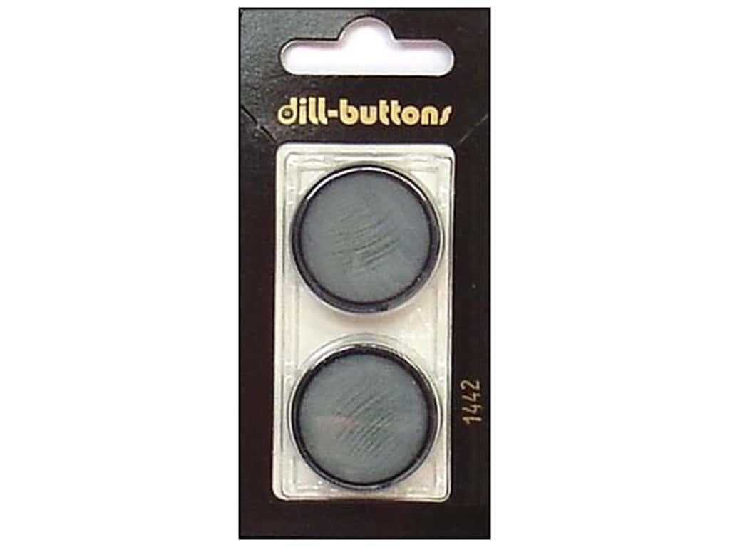 Dill Shank Buttons 1 in. Blue #1442 2 pc.