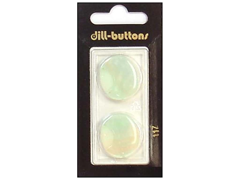 Dill Shank Buttons 7/8 in. Iridescent White #117 2 pc.