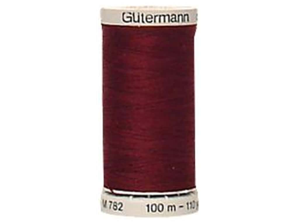 Gutermann Extra Strong Polyester Upholstery Thread 109 yd. Burgundy