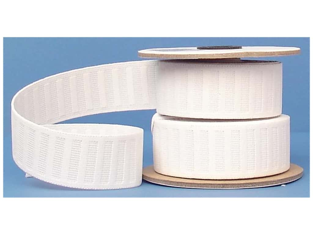 Conrad Jarvis No Roll Elastic Reel 1 1/2 in x 10 yd White (10 yards)