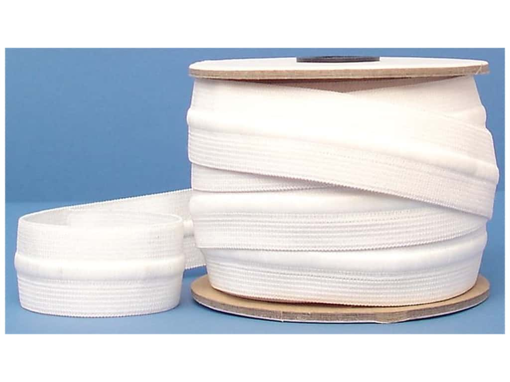 Conrad Jarvis Draw Cord Elastic Reel 1 1/4 in x 12 yd White (12 yards)
