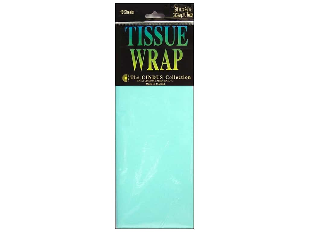 Tissue Paper by Cindus 20 x 20 in. Solid Baby Blue 10 pc.