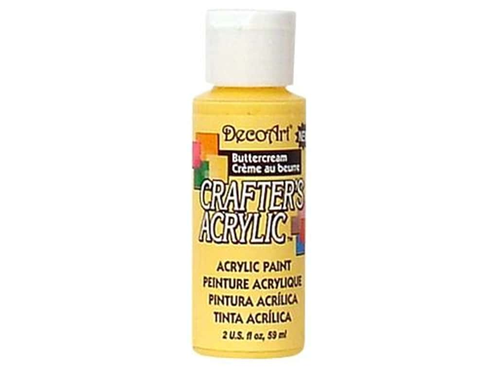 DecoArt Crafter's Acrylic Paint 2 oz. #117 Buttercream