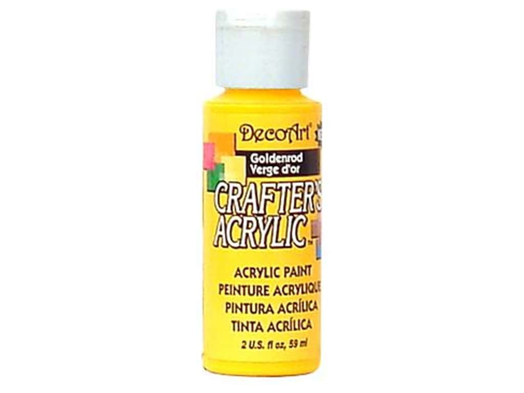 DecoArt Crafter's Acrylic Paint 2 oz. #118 Goldenrod