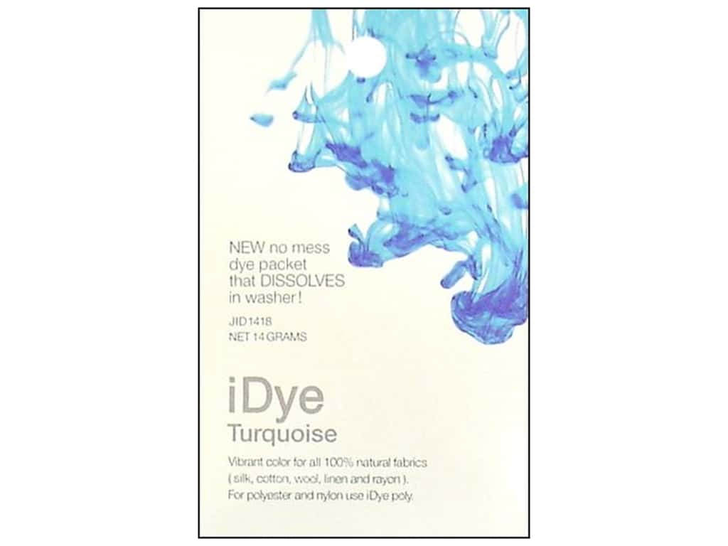 Jacquard iDye for Natural Fabrics Turquoise