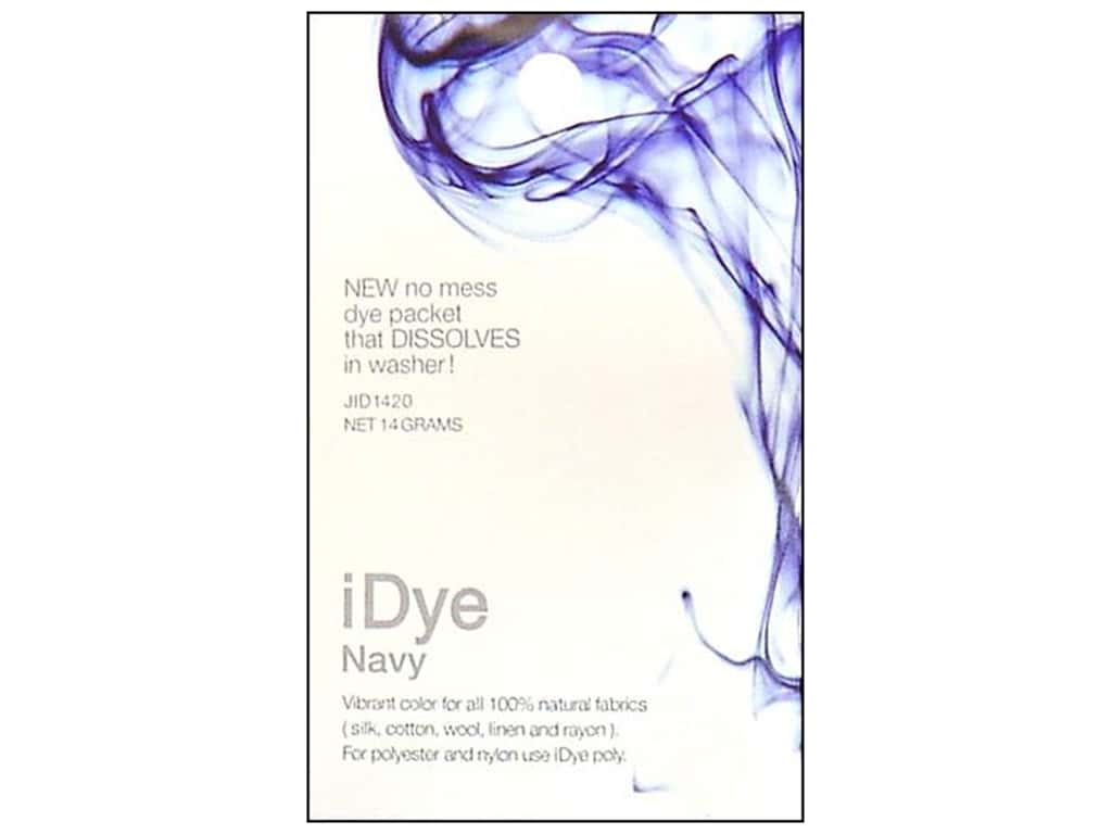 Jacquard iDye for Natural Fabrics Navy
