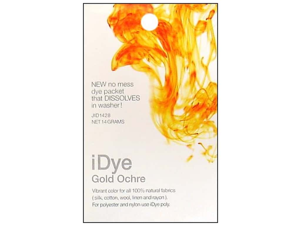 Jacquard iDye for Natural Fabrics Gold Ochre