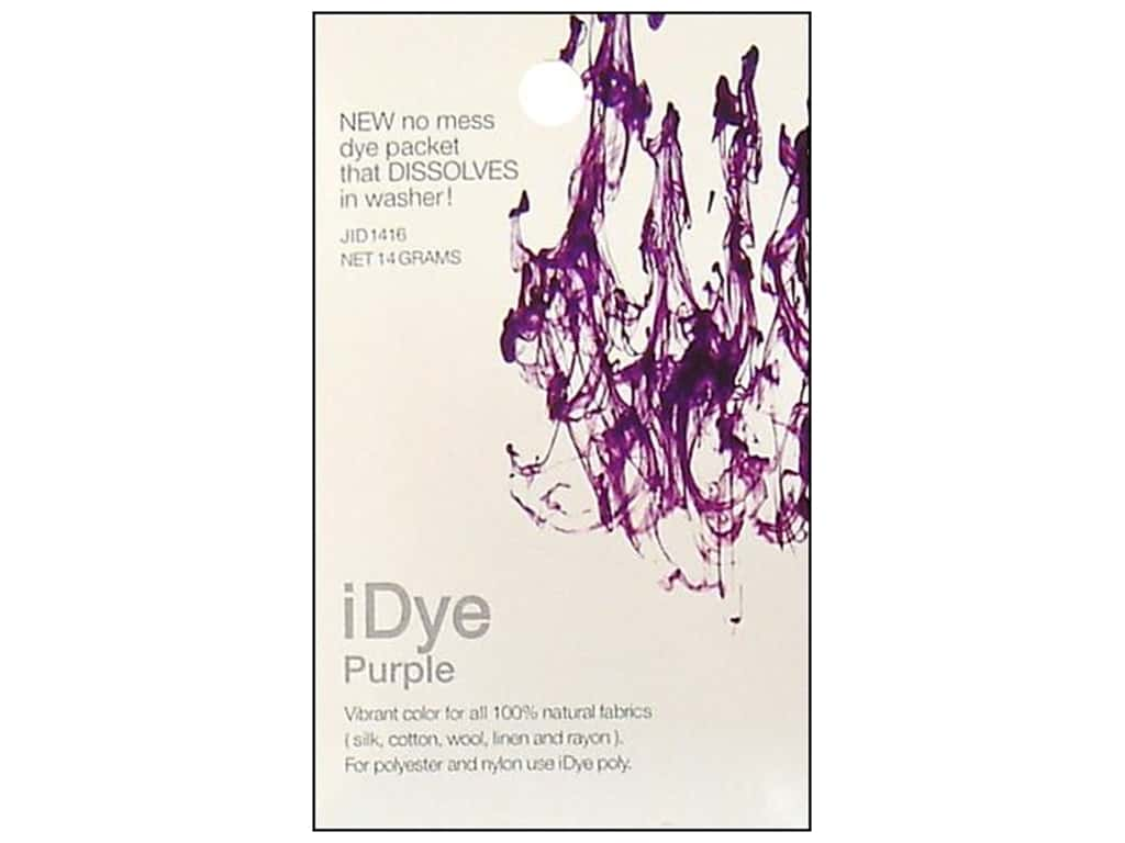 Jacquard iDye for Natural Fabrics Purple